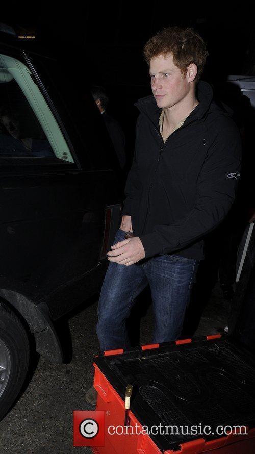 prince harry leaving the arts club in 3850530
