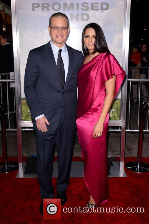 Featuring: Matt Damon, Luciana BarrosoWhere: New York City,...
