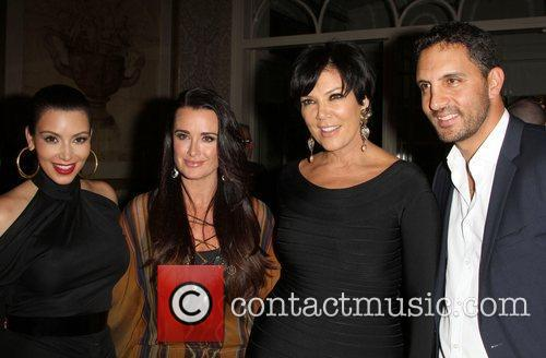Kim Kardashian, Kris Jenner and Kyle Richards 2