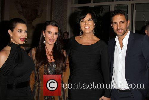 Kim Kardashian, Kris Jenner and Kyle Richards 3