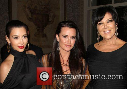 Kim Kardashian, Kris Jenner and Kyle Richards 4