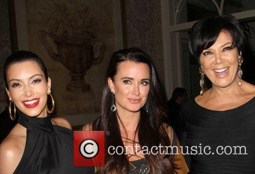 Kim Kardashian, Kris Jenner and Kyle Richards 5