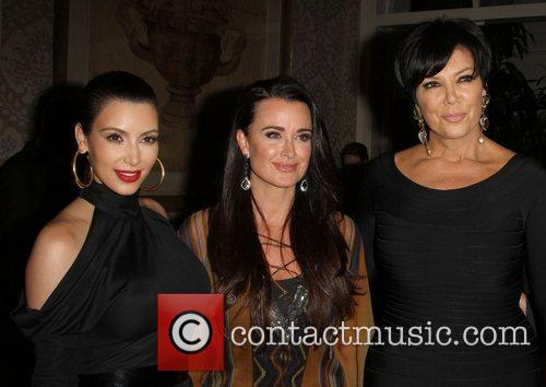 Kim Kardashian, Kris Jenner and Kyle Richards 7