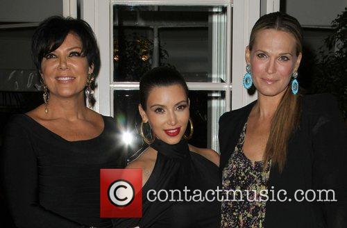 Kris Jenner, Kim Kardashian and Molly Sims 2