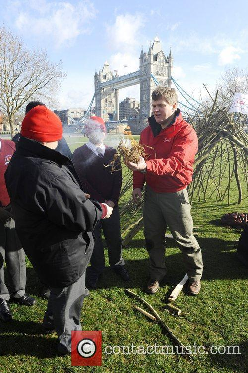 Survival expert Ray Mears launches npower's new educational...