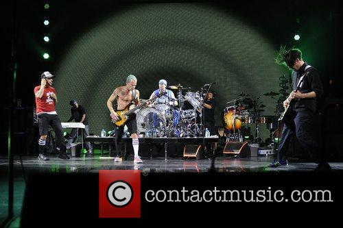 Red Hot Chili Peppers performing