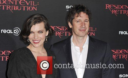 Milla Jovovich and Paul W S Anderson 1