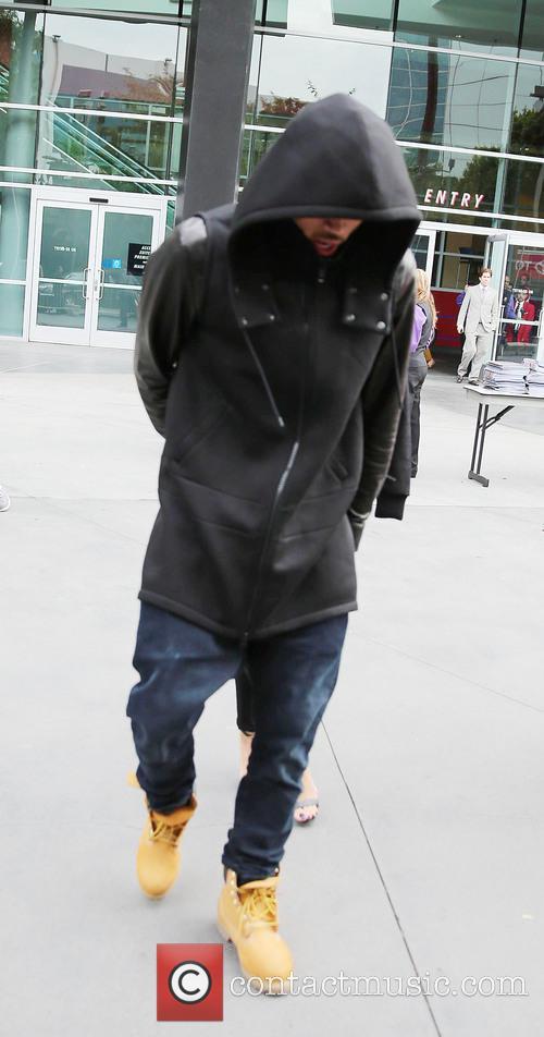 Chris Brown on Christmas Day