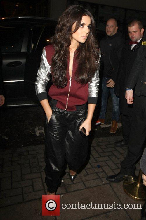 Cheryl Cole Celebrities leaving the Rose Club London,...