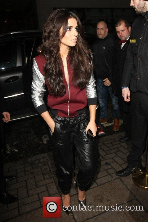cheryl cole celebrities leaving the rose club 5970969