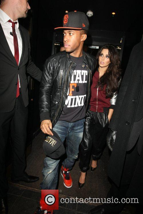 cheryl cole tre holloway celebrities leaving the 5970982
