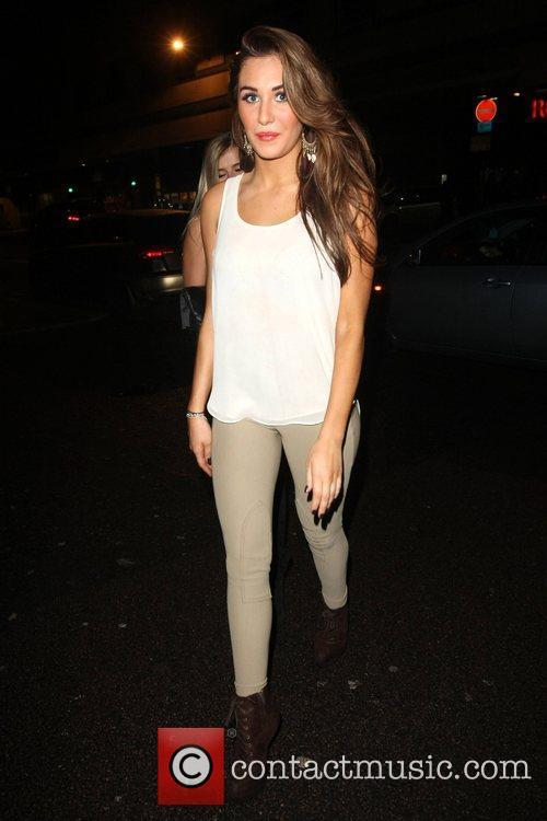 Chloe Goodman Celebrities leaving the Rose Club London,...