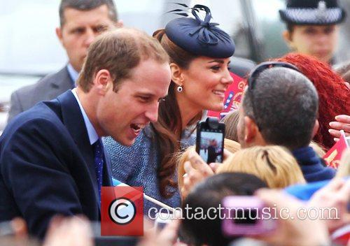 Prince William, Duke of Cambridge and Catherine, Duchess...