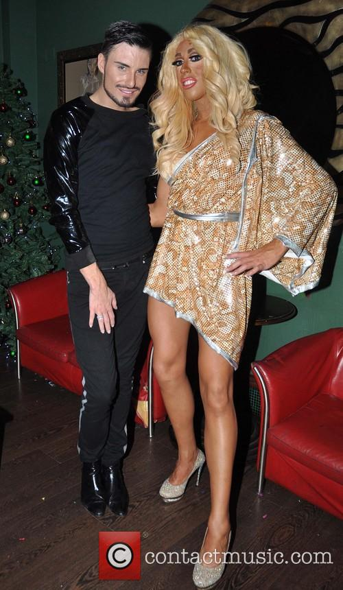 Davina DeVine; Rylan Clark X Factor's Rylan Clark...
