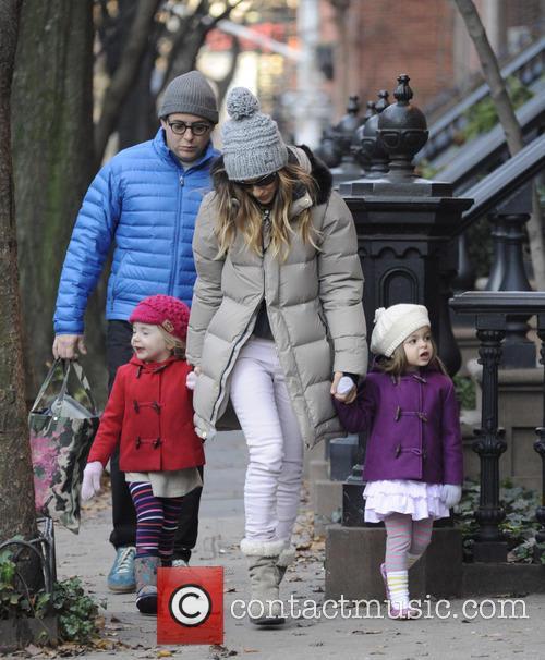 Sarah Jessica Parker; Matthew Broderick; Tabitha Broderick; Marion...