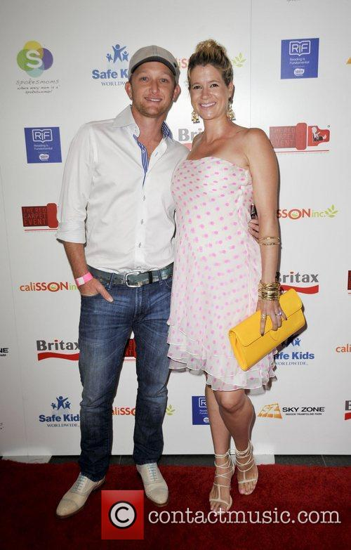 Eric Ladin, wife Katy  The 2nd Annual...