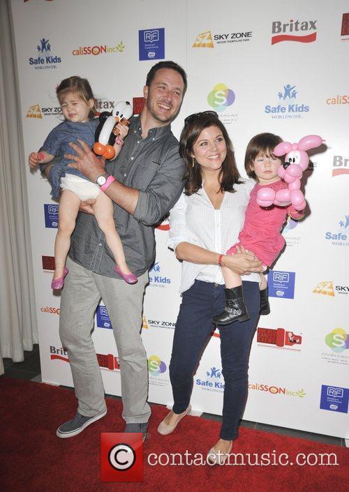 Tiffani Thiessen, Brady Smith, kids  The 2nd...