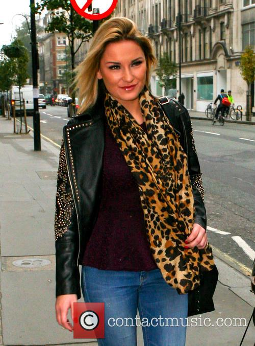 Samantha Faiers and Inanch Hairdressers 5