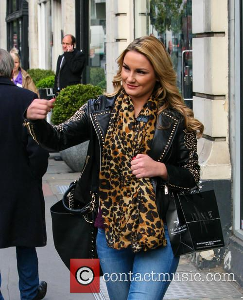Samantha Faiers and Inanch Hairdressers 6