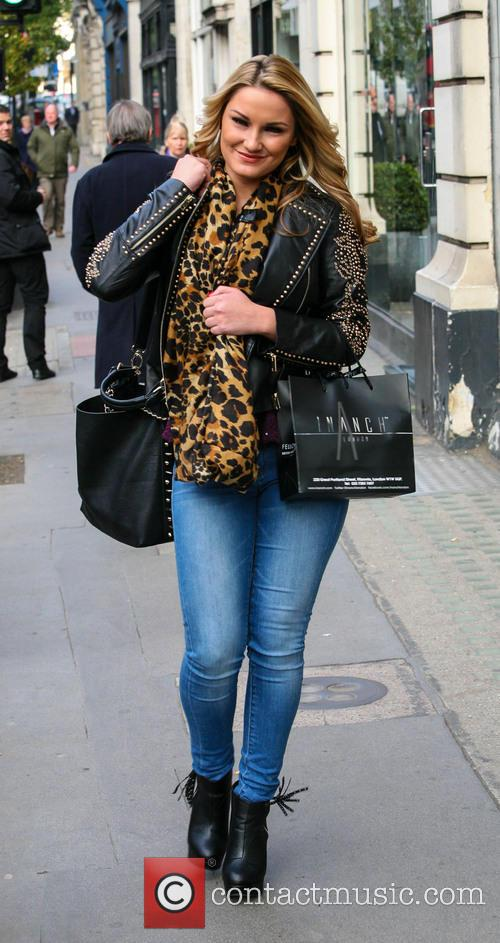 Samantha Faiers and Inanch Hairdressers 7