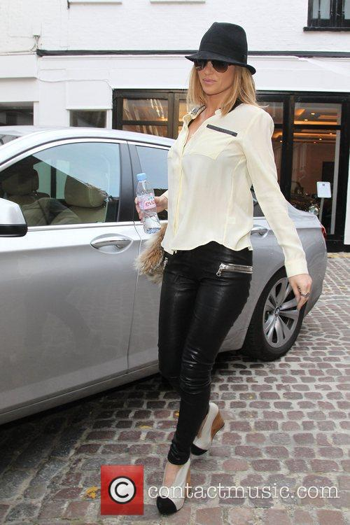 Sarah Harding out and about London, England