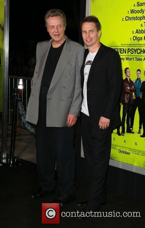 Christopher Walken and Sam Rockwell 4