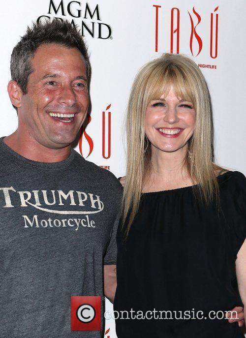 Johnny Messner and Kathryn Morris 1