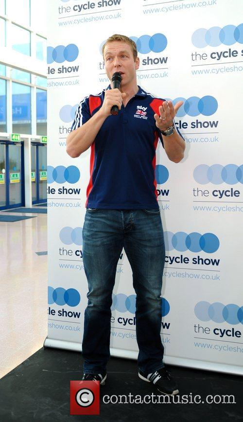Sir Chris Hoy officially opens the 2012 Cycle...