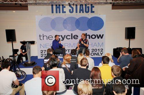 Officially opens the 2012 Cycle Show held at...