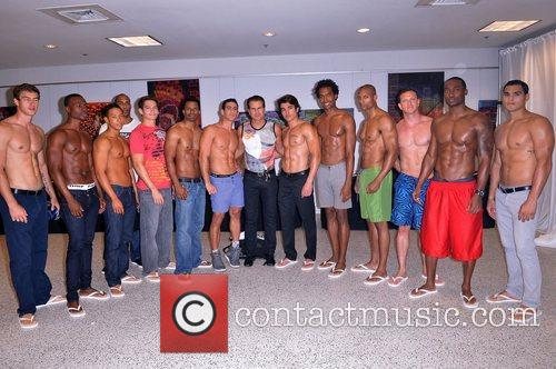 vincent depaul and models at the 2012 4116922