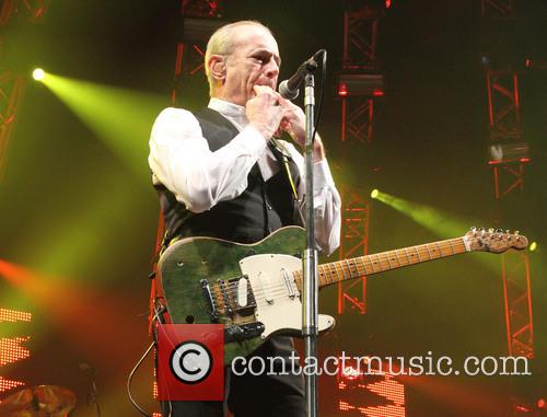 Status Quo performing live at 'Quofestive' at the...