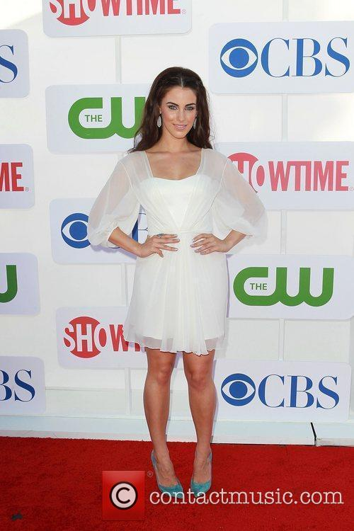 Jessica Lowndes CBS Showtime's CW Summer 2012 Press...