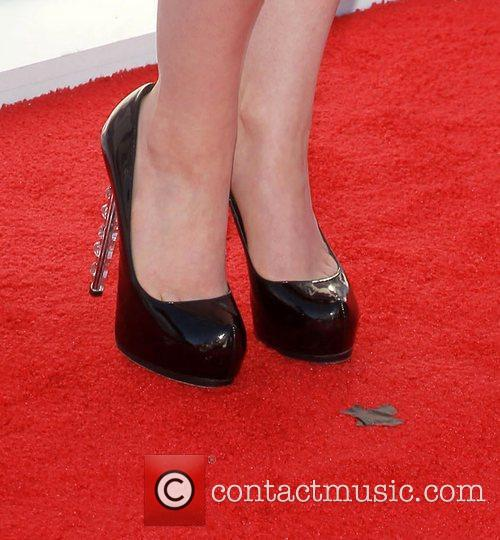 Kat Dennings and Beverly Hilton Hotel 2