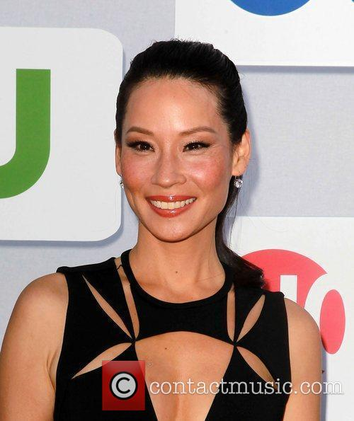 Lucy Liu and Beverly Hilton Hotel 7