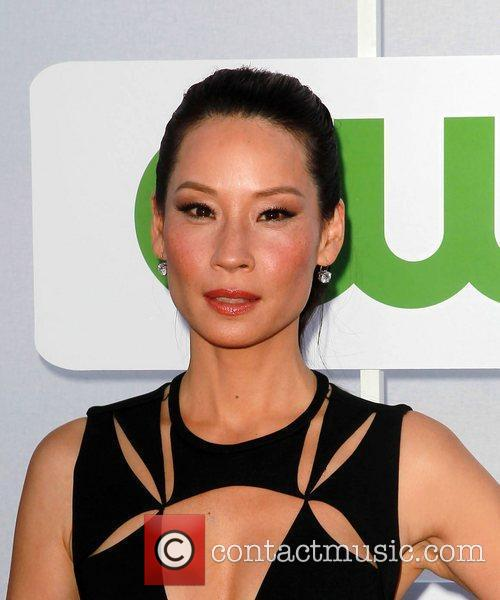 Lucy Liu and Beverly Hilton Hotel 8