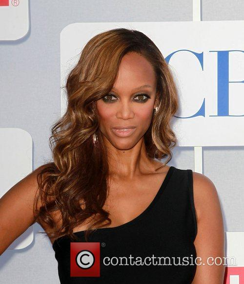 Tyra Banks and Beverly Hilton Hotel 8