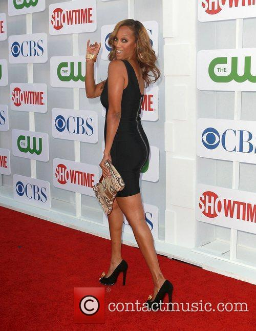 Tyra Banks and Beverly Hilton Hotel 10