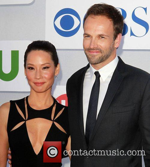 Lucy Liu and Jonny Lee Miller CBS Showtime's...
