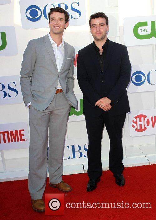 Michael Urie, David Krumholtz and Beverly Hilton Hotel 2
