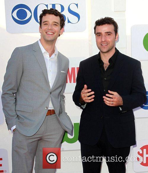 Michael Urie, David Krumholtz and Beverly Hilton Hotel 1