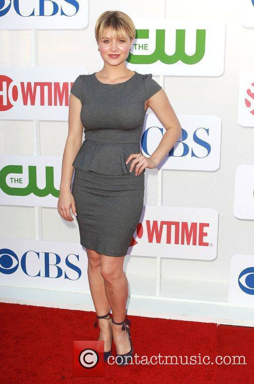 Sunny Mabrey CBS Showtime's CW Summer 2012 Press...