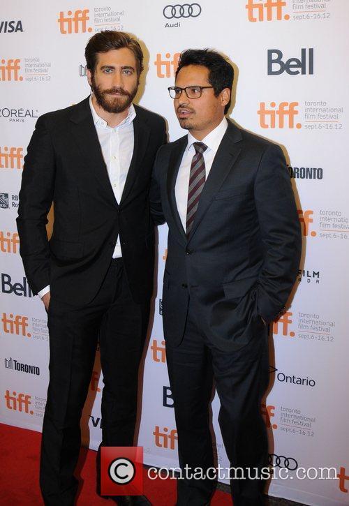 Jake Gyllenhaal and Michael Pena 2012 Toronto International...