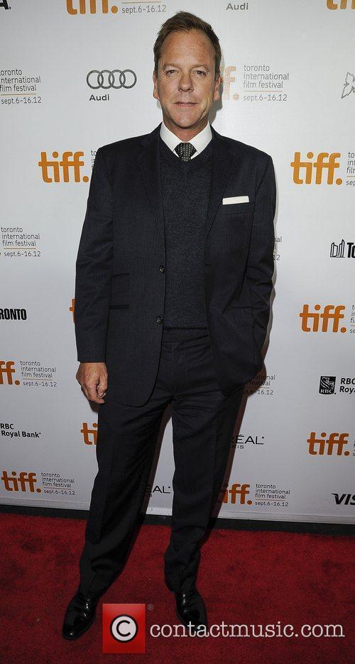 Kiefer Sutherland 'The Reluctant Fundamentalist' premiere arrivals at...