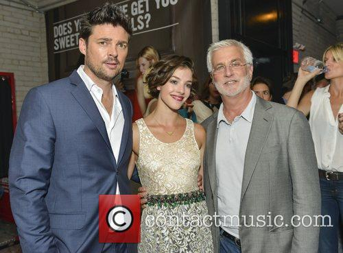 Karl Urban and Olivia Thirlby 3