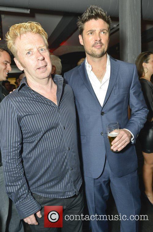 Travis and Karl Urban 1