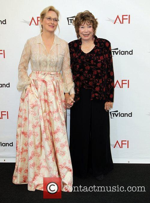 Meryl Streep, Shirley Maclaine and Afi Life Achievement Award 3