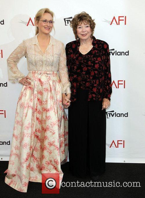 Meryl Streep, Shirley Maclaine and Afi Life Achievement Award 1