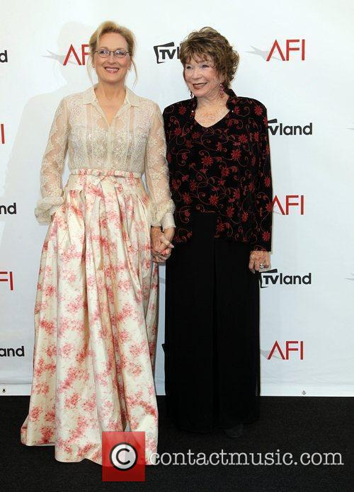 Meryl Streep, Shirley Maclaine and Afi Life Achievement Award 4