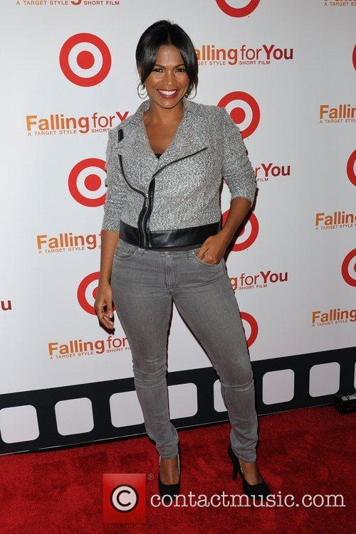 Nia Long  Target Celebrates 'Falling For You'...
