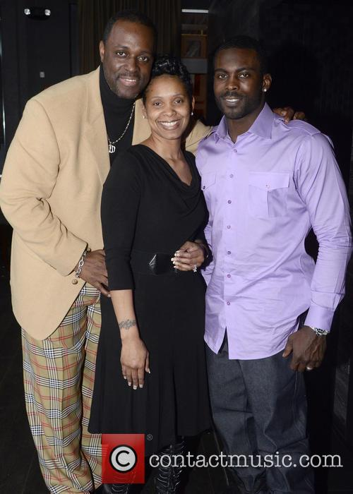 Charlie Mack Alston, Tasha Mack Alston and Michael Vick